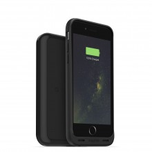 Carcasa cu acumulator 1560mAh si incarcare wireles Mophie Juice Pack + charging base iPhone 6/6s, Black