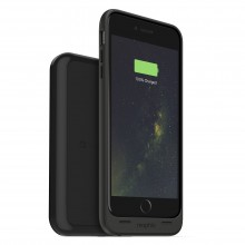 Carcasa cu acumulator 2420mAh si incarcare wireles Mophie Juice Pack + charging base iPhone 6 Plus/6s Plus, Black
