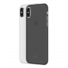 Set huse iPhone X/Xs INCIPIO Feather Light Negru/ Alb