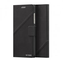 Husa Book Thin Flip Mozo pentru Huawei Honor 8, Black