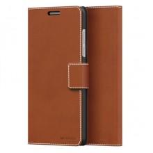 Husa Book Thin Flip Mozo pentru Huawei Honor 8, Brown