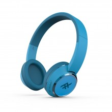 Casti audio iFrogz Coda Wireless Headphones cu microfon, Blue