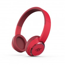 Casti audio iFrogz Coda Wireless Headphones cu microfon, Red