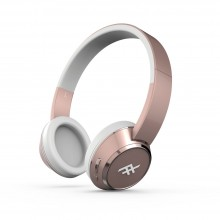 Casti audio iFrogz Coda Wireless Headphones cu microfon, Rose Gold