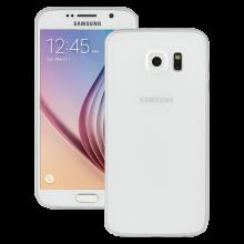 Husa Ultraslim Redneck Svelto 0.35mm pentru Samsung Galaxy S6, Transparent White