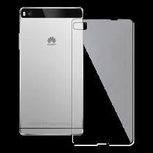Husa de protectie Slim Redneck TPU Flexi pentru Huawei P8, Clear