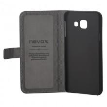 Husa de piele NEVOX Ordo Book pentru Samsung Galaxy A5 (2016) Black