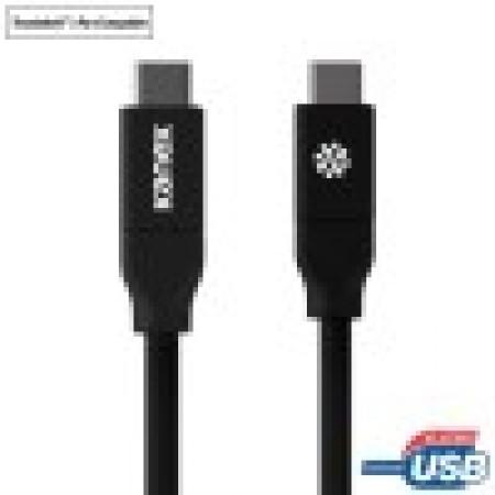 Cablu de date Kanex Thunderbolt, USB 3.0, 2 m, Negru