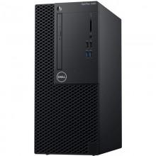 Sistem Desktop PC Dell OptiPlex 3060 MT cu procesor Intel® Core™ i3-8100 3.6GHz Coffee Lake, GMA UHD 630, 4GB DDR4, 256GB SSD, Ubuntu, NBD, Mouse + Tastatura